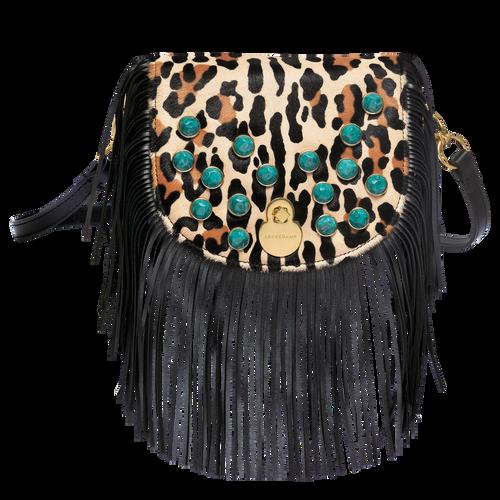Messenger-Taschen, 640 Schwarz/Camel, hi-res