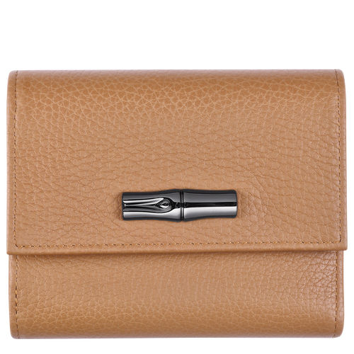 Compact wallet, Natural - View 1 of  2 -