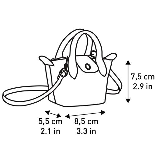 斜揹袋 XS, 古董粉紅色 - 查看 4 4 -