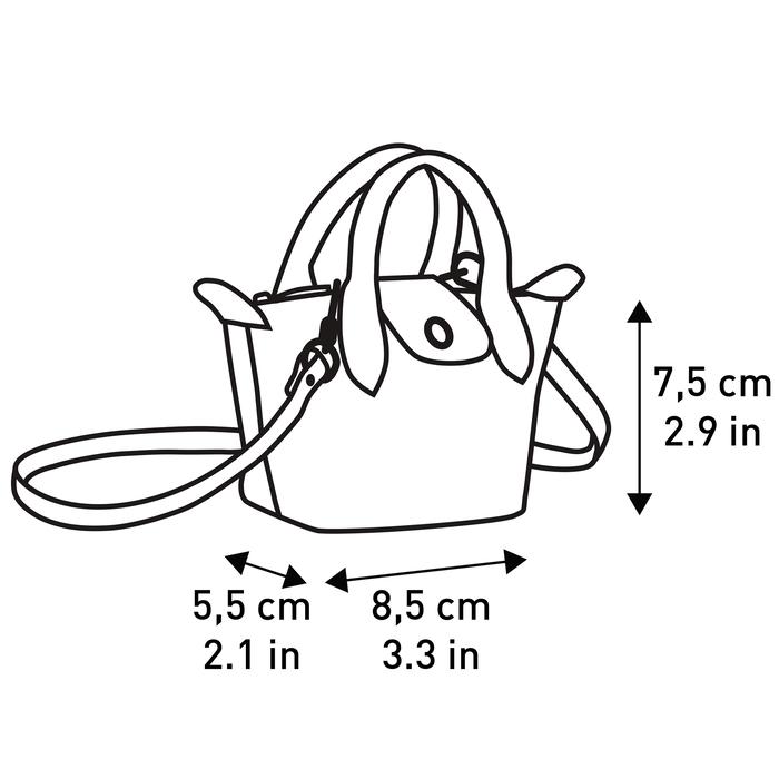 斜揹袋 XS, 古董粉紅色 - 查看 4 4 - 放大
