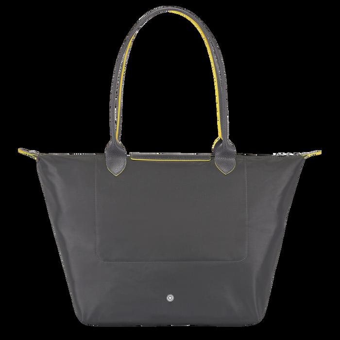 Shoulder bag L, Gun metal, hi-res - View 3 of 4
