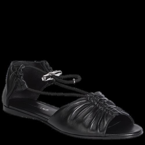 Flat sandals, Black, hi-res - View 2 of 3