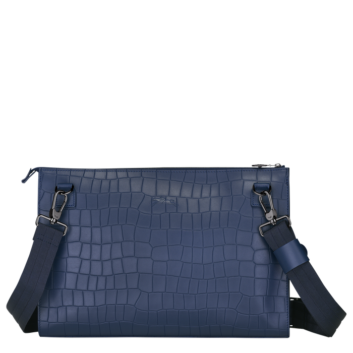 Crossbody bag L, Navy - View 3 of  3 - zoom in