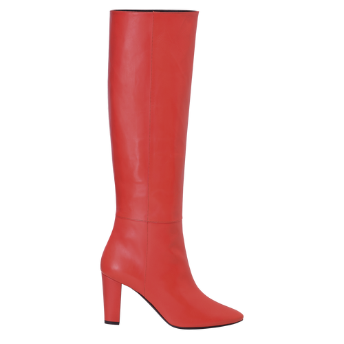 Fall-Winter 2021 Collection Heeled boots, Red Kiss