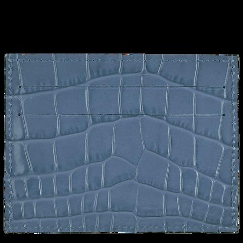Le Pliage Cuir Card holder, Slate