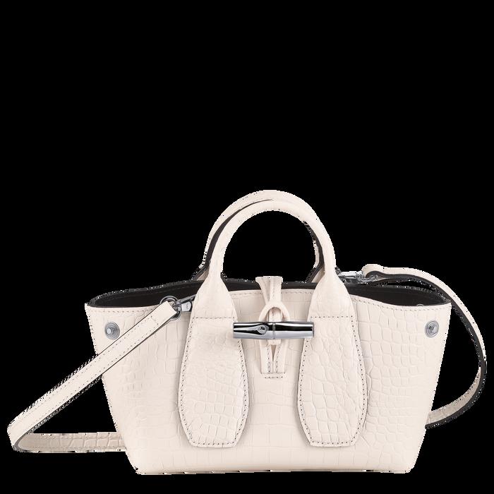 Roseau Top handle bag XS, Powder