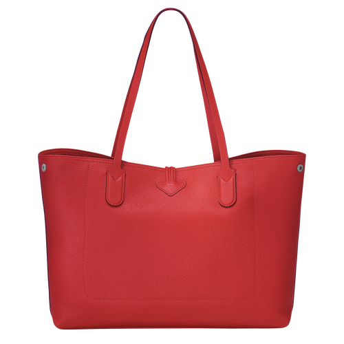 Essential Shoulder bag L, Red, hi-res - View 3 of 3