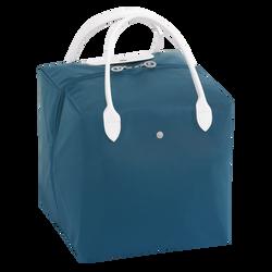 Handtasche M, E62 Blau/Weiss, hi-res