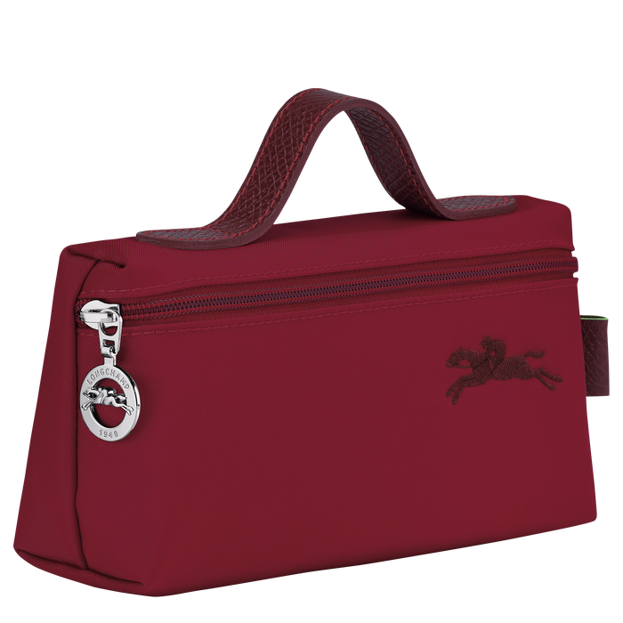Le Pliage Green Pouch, Red