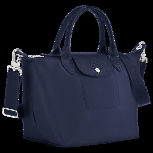 Tas met handgreep aan de bovenkant S, Marineblauw - Weergave 2 van  4 -