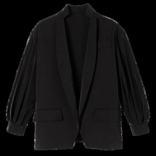 和服風格短身外套, 黑色, hi-res - View 1 of 1
