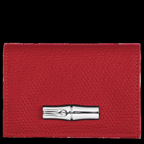 컴팩트 지갑, 레드 - 1 이미지 보기 2 -
