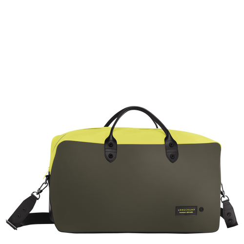 View 1 of Travel bag, Neon/Khaki, hi-res