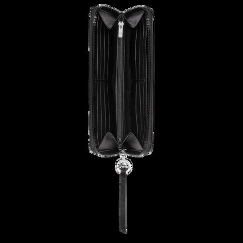 Le Pliage Néo Portefeuille long zippé, Noir