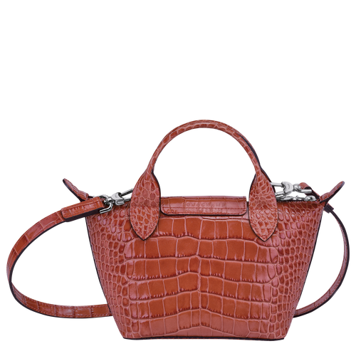 Top handle bag XS, Coral - View 3 of  3 -