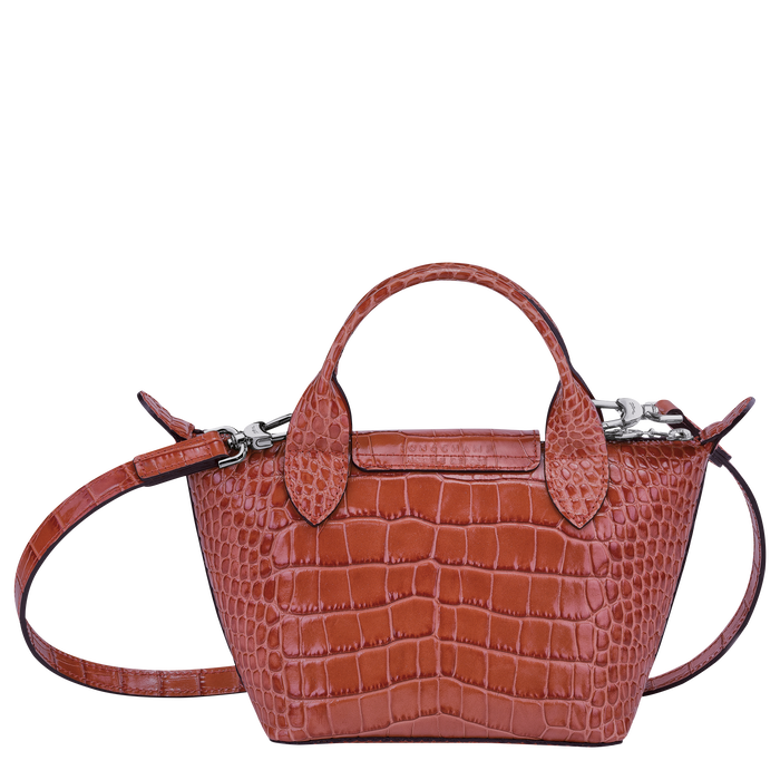 Top handle bag XS, Coral - View 3 of  3 - zoom in