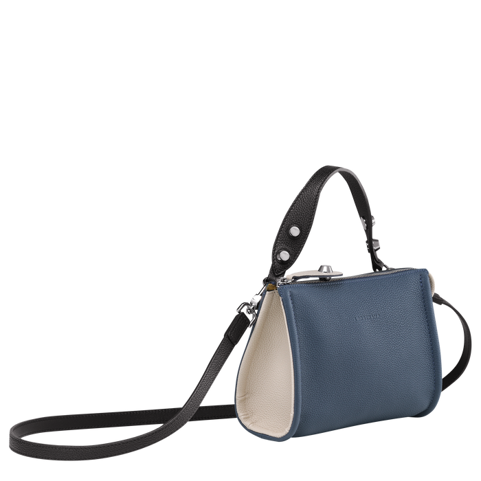 Crossbody bag, Pilot Blue/Black/Chalk, hi-res - View 2 of 3
