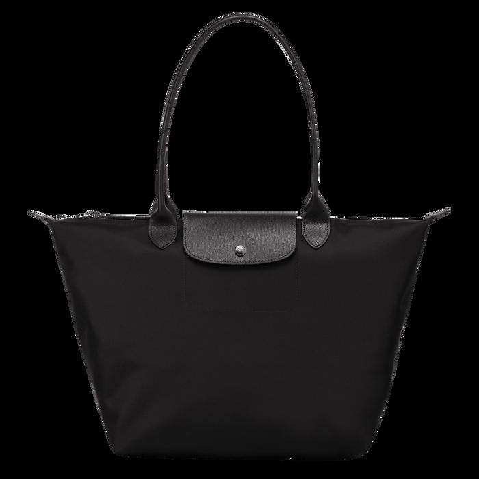 Sac porté épaule L, Noir/Ebène - Vue 1 de 4 - agrandir le zoom