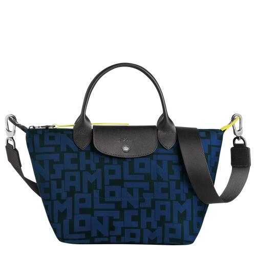 Le Pliage Collection Top handle bag S, Black/Navy