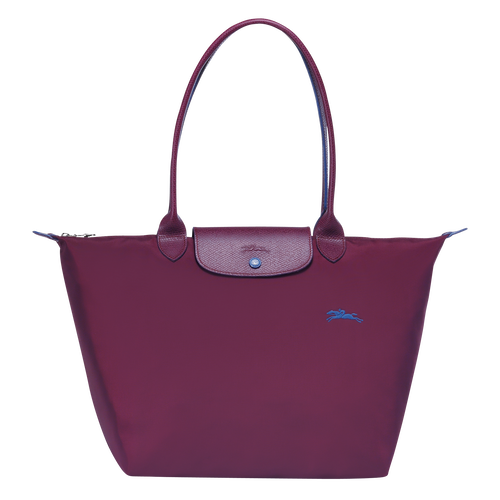 Shoulder bag L, Plum, hi-res - View 1 of 3