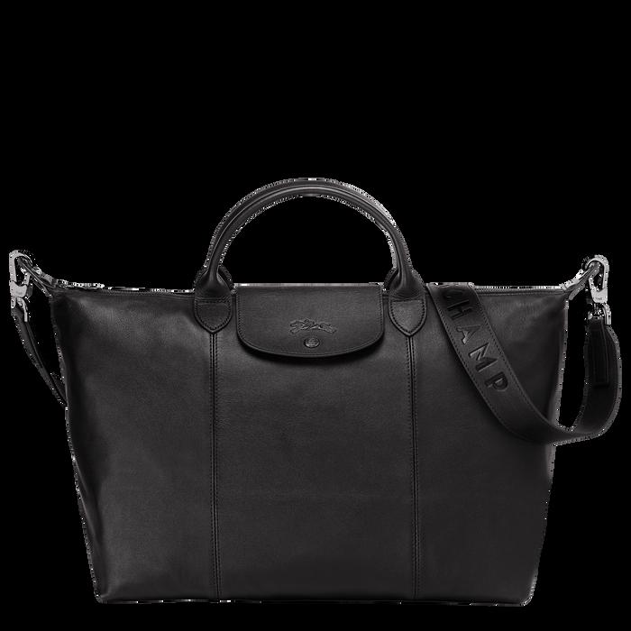Top handle bag L, Black/Ebony - View 1 of 4 - zoom in