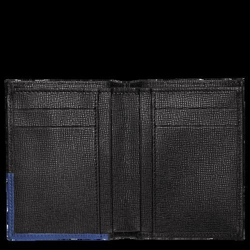 Porte-cartes, 731 Noir/Bleu, hi-res