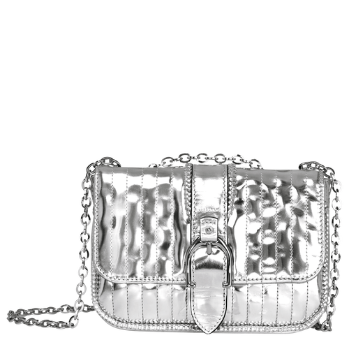 View 1 of Hobo bag XS, 023 Silver, hi-res