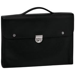 Briefcase M, 047 Black, hi-res