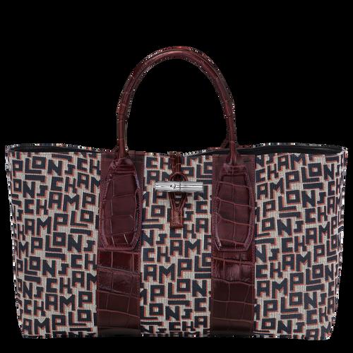 Top handle bag L, Mahogany - View 2 of 4 -