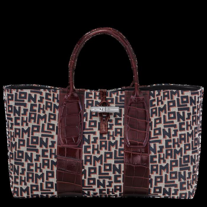 Top handle bag L, Mahogany - View 2 of 4 - zoom in