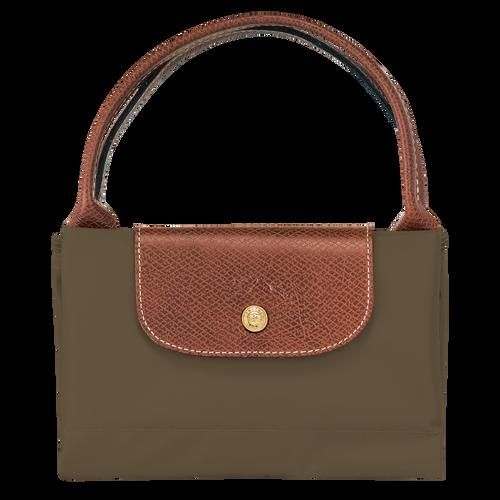 Top handle bag M, Khaki, hi-res - View 4 of 4