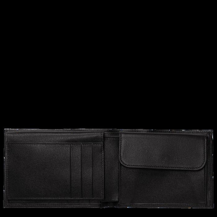 Geldbörse, Schwarz/Ebenholz - Ansicht 2 von 2 - Zoom vergrößern