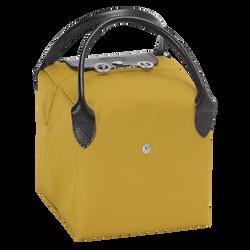 Top-handle bag S, E54 Yellow/Black, hi-res