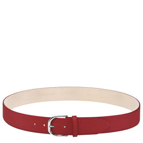 Ladies' belt, Red, hi-res - View 1 of 1