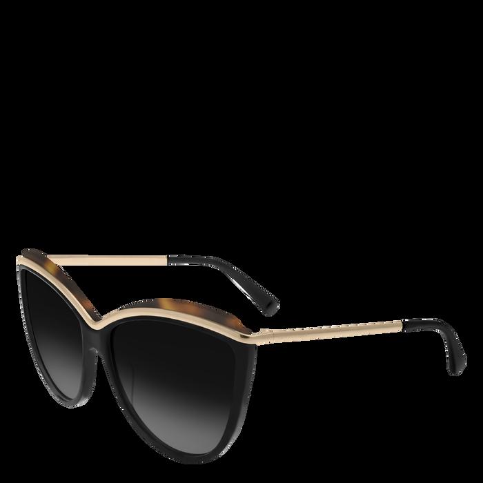 Sunglasses, Zwart geschubd - Weergave 2 van  2 - Meer inzoomen.