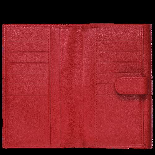Continental wallet, Vermilion, hi-res - View 2 of 3