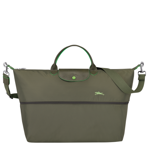 Travel bag, Longchamp Green - View 4 of 4 -