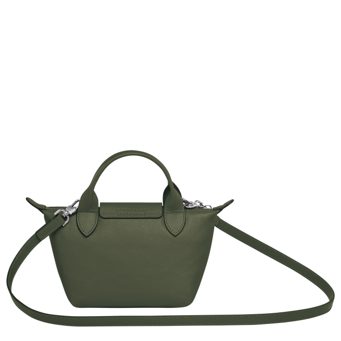 Top handle bag XS, Dark Green - View 3 of  3 - zoom in