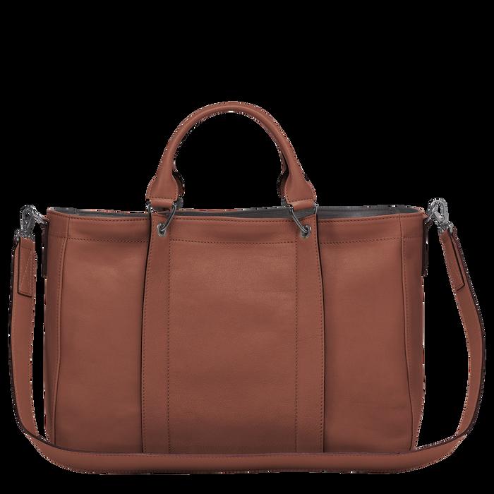 Top handle bag M, Cognac - View 3 of  3 - zoom in
