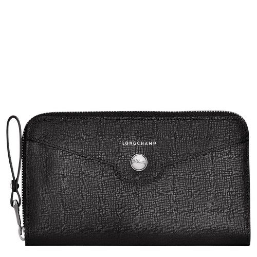 View 1 of Zip around wallet, 001 Black, hi-res