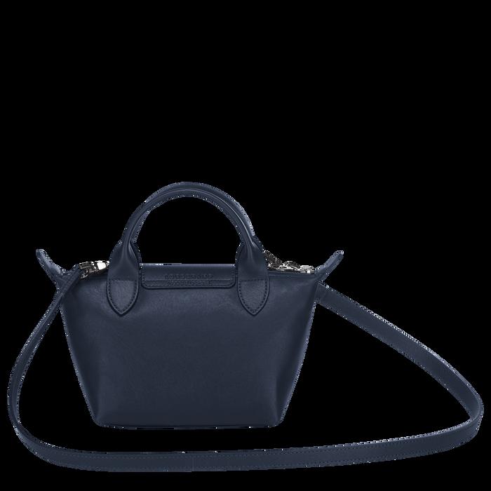 Top handle bag XS, Navy - View 3 of  5 - zoom in