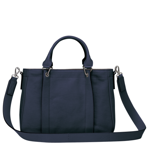 Top handle bag S, Midnight Blue - View 3 of  3.0 -