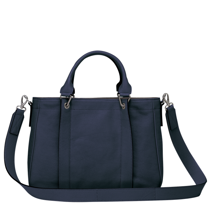 Top handle bag S, Midnight Blue - View 3 of  3.0 - zoom in