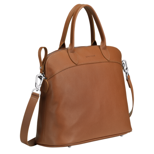 Top handle bag M, Caramel - View 2 of  3 -