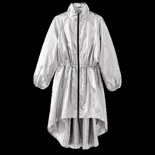 Spring-Summer 2021 Collection Rain coat, Silver