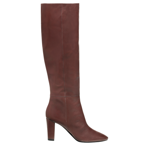 Fall-Winter 2021 Collection Heeled boots, Burgundy