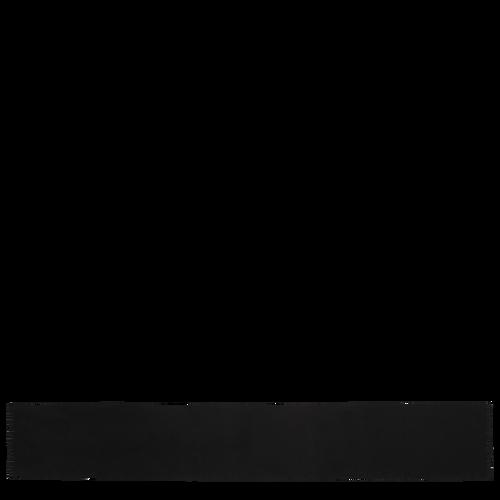 Vue 1 de Echarpe, Noir, hi-res
