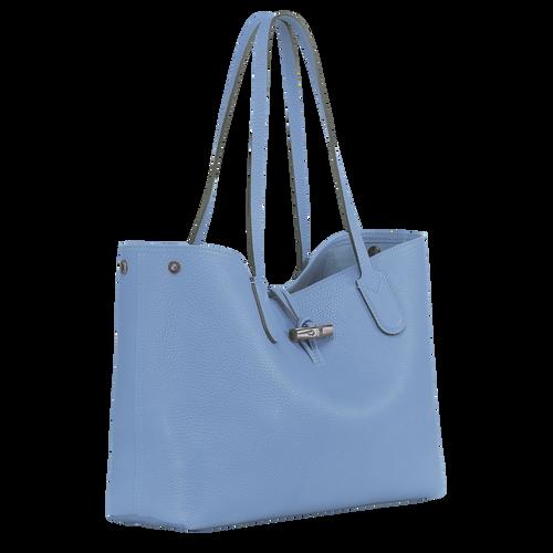 Essential Tote bag M, Blue, hi-res - View 2 of 3