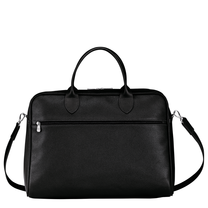 Briefcase L, Black - View 3 of  4.0 - zoom in