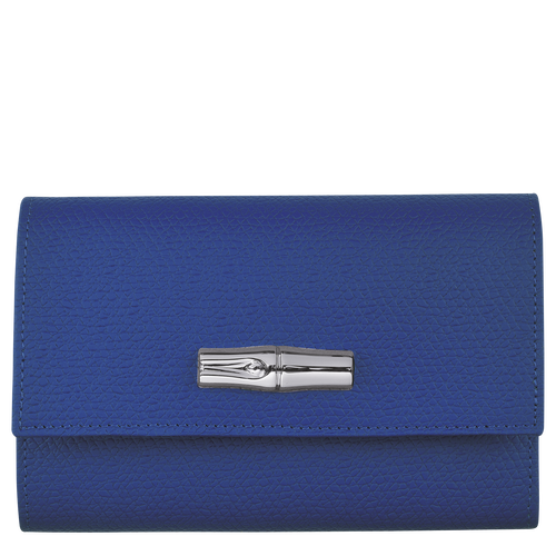 Compact wallet, Blue - View 1 of  2 -